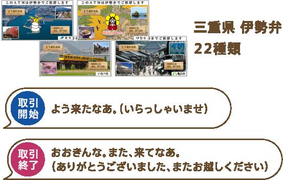 三重県 伊勢弁22種類