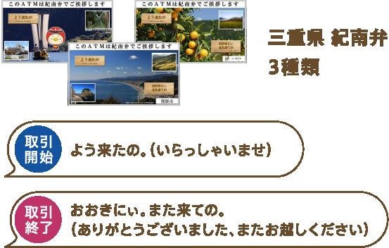 三重県 紀南弁3種類